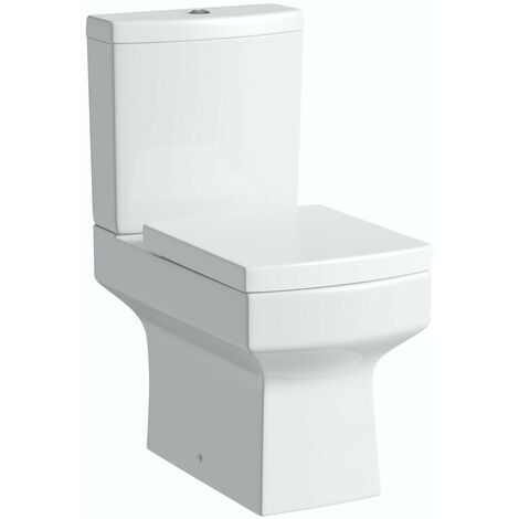 Orchard Wye close coupled toilet inc soft close seat