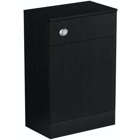 Orchard Wye essen black back to wall toilet unit 500mm