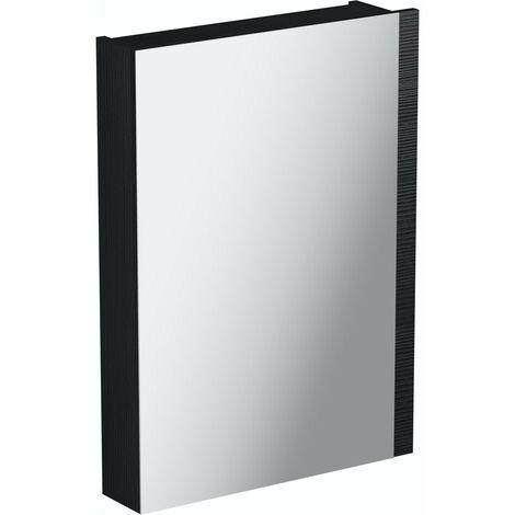 Orchard Wye essen black mirror cabinet 760 x 542mm