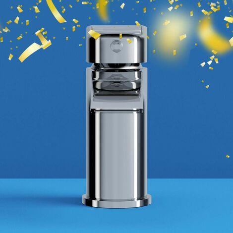 Orchard Wye round basin mixer tap
