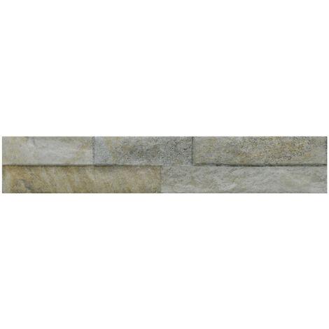 Ordino Beige 8cm x 44.25cm Porcelain Wall Tile