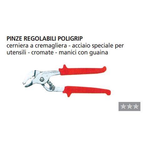 ORECA-PINZE REGOLABILI POLIGRIP mm 240