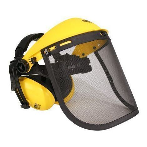 Oregon Mesh Visor & Ear Muffs