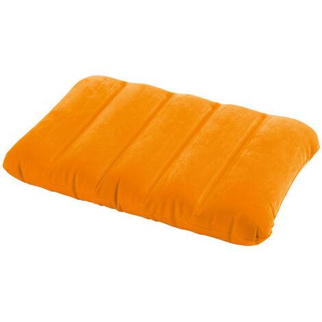 Oreiller gonflable Fun Orange - Intex