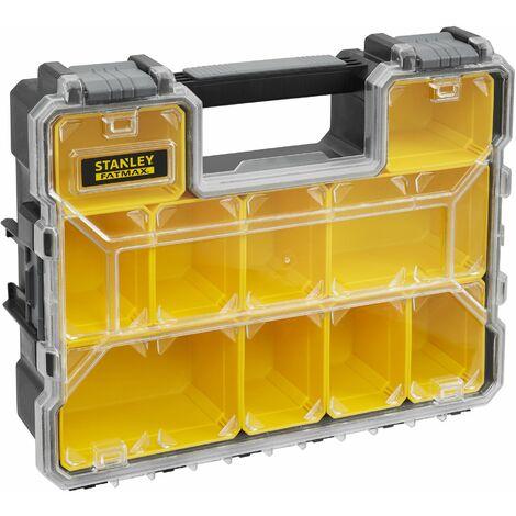 Organiseur 106mm 10 compartiments amovibles FatMax STANLEY