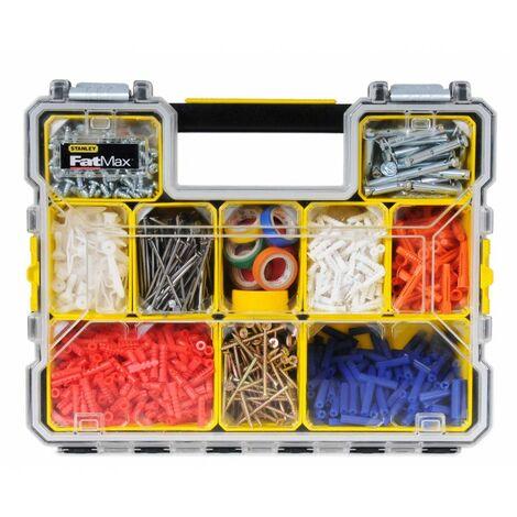 Organiseur étanche STANLEY Fatmax - 44.6 x 11.6 x 35.7 cm - Compartiments amovibles - 1-97-518