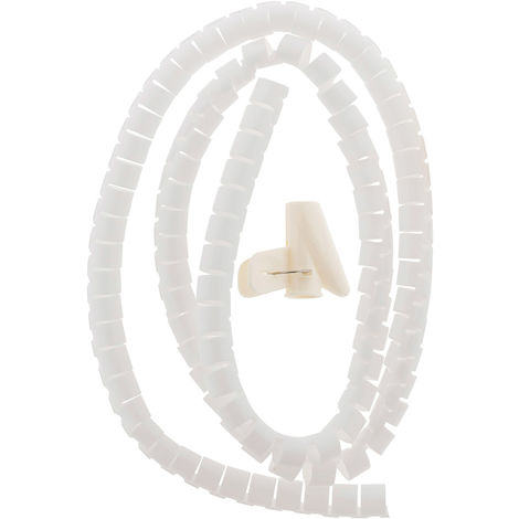 Organizador de cable blanco Ø20 1,5m