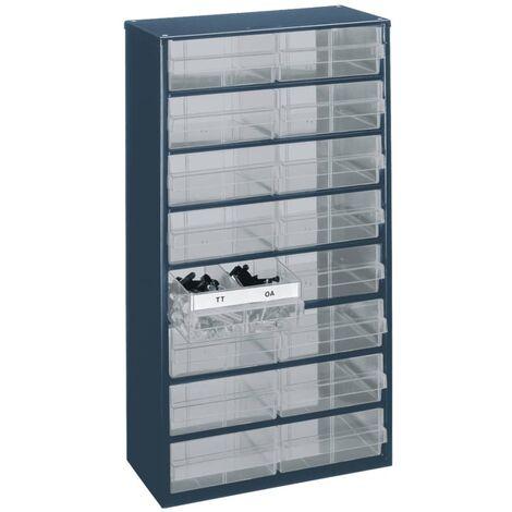 Organizador de herramientas Raaco 1216-04 137423 con 16 cajones