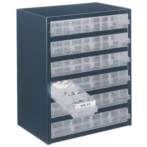 Organizador de herramientas Raaco 250/24-1 137577 con 45 cajones