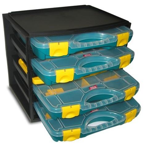Organizador Modular 4 Estuches - TAYG - 301001