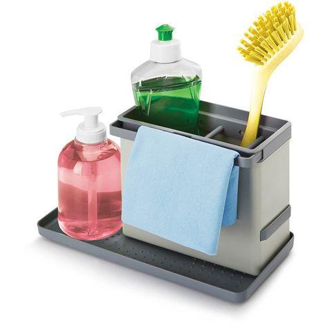 Lavello Cucina In Plastica.Organizer Organizzatore Per Lavello Cucina In Plastica Abs Spugna