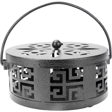 Oriental Mosquito Coil & Incense Holder | M&W Black