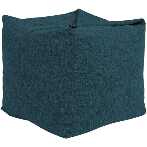 Origami Bean Bag Pouffe, Convertible Ottoman Floor Cushion Chair, Living Room Bedroom Footstool Bean Bags