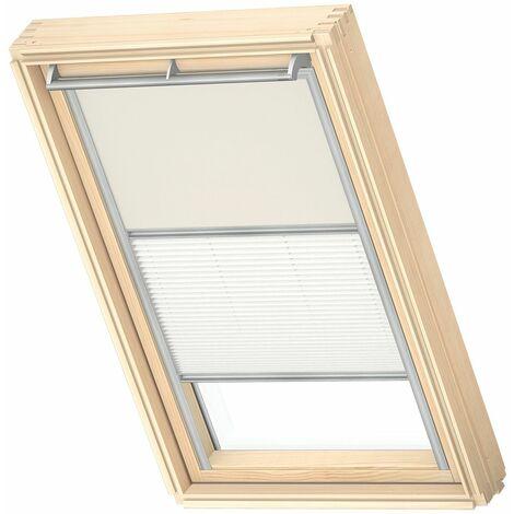 Original store occultant Duo VELUX pour fenêtres de toit VELUX - Choisissez la taille de votre store dans la liste déroulante