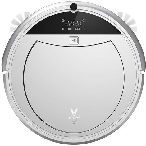 Original Viomi Smart 11 Sensors Automatic Charging Planning Remote Control Remote Control Robot Vacuum Cleaner [Cha??Not Eco-friendly Xiaomi]
