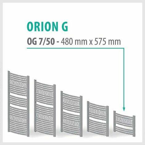 Orion-G Weiß - Badheizkörper Handtuchheizkörper Handtuchheizung Handtuchheizer