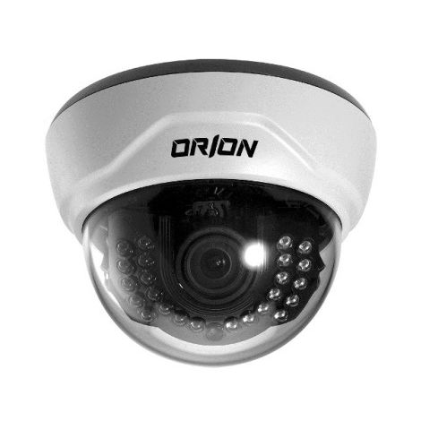 "Orion GST-351 - 1/3"" CCD II camera Dome Fixe 2,8~12mm 24 LEDs IR 700L"