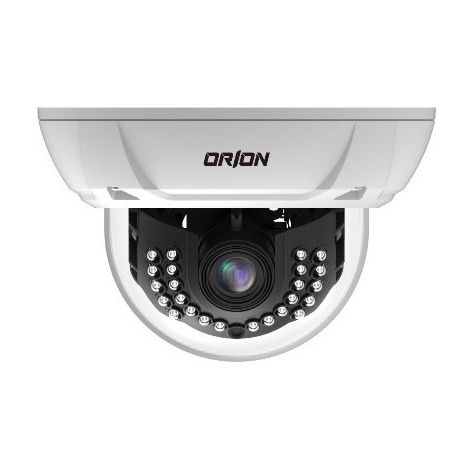 "Orion GST-655 - 1/3"" CCD II camera Dome Vandal-proof 2,8~12mm 28 LEDs IR 620L"