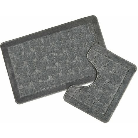 Orkney Silver Bath Mat and Pedestal Set