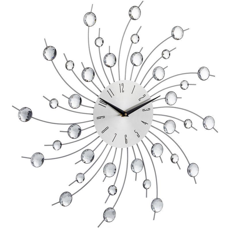 Orologio da parete XL con brillantini grande per cucina salotto ...