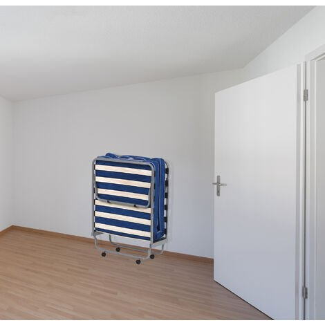 ORTHOPAEDIC COT WITH MATTRESS 80X190 - 32x80 colour Light Blue