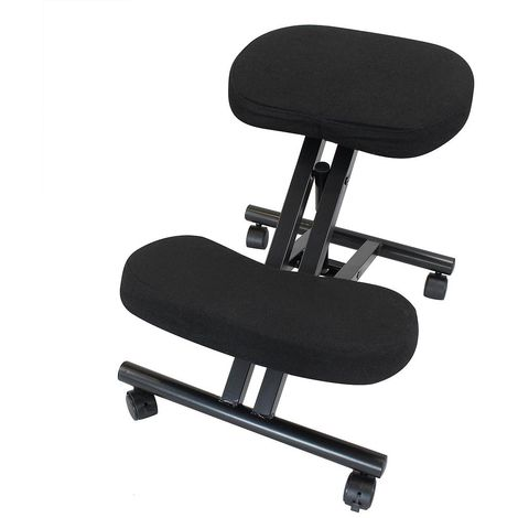 Orthopaedic Ergonomic Stool, Posture Stool, Material: Cotton fabric, Metal