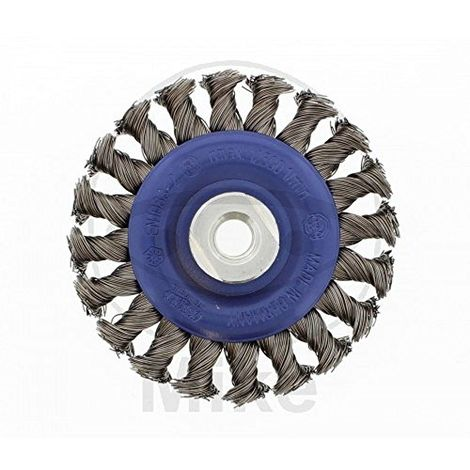 Osborn 402631151/Brosse ronde M14/x 2/gezopft en fil dacier 115/x 12/mm