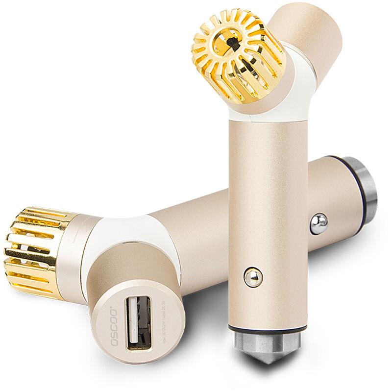 Oscoo 001 Purificateur D'Air Chargeur Usb Chargeur Rapide 3.0 2.0 Chargeur De Telephonie Mobile Chargeur De Voiture Rapide Pour Samsung Xiaomi Tablet