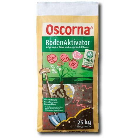 Oscorna Bodenaktivator 25 kg Boden Verbesserer Natur Dünger Gemüse Obst Rasen