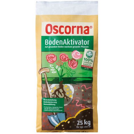 Oscorna® BodenAktivator 25 kg für 125 bis 250 m²