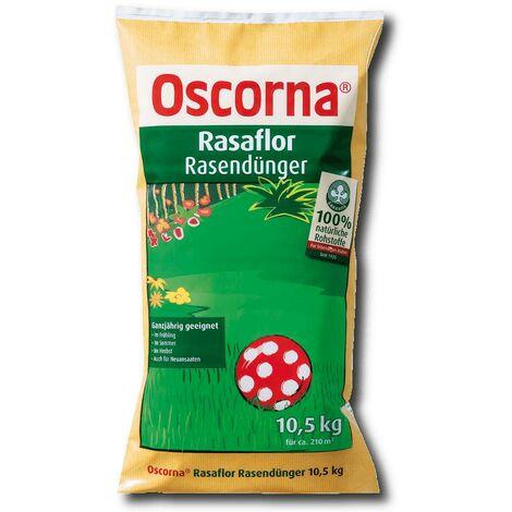 Oscorna Rasaflor engrais pour gazon 10,5 kg engrais organique naturel toute l'année.