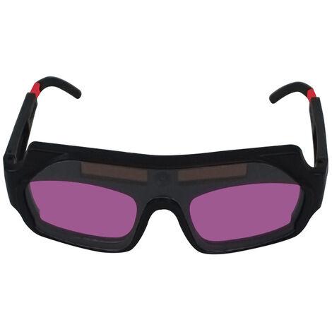 Oscurecimiento automatico de soldadura de los vidrios antideslumbrante gafas de soldadura al arco de argon Glasses