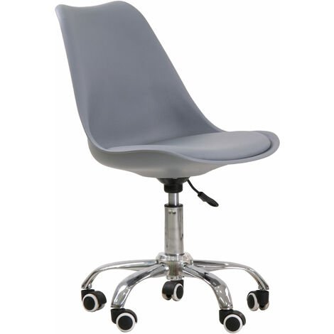 Osdera Swivel Office Chair Grey