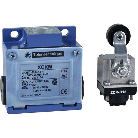 OsiSense XCKM - inter. de pos. - levier à galet plast. -1O+1F- brusque - Pg11 - XCKM115