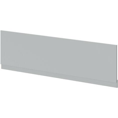 "main image of ""Oslo Matt Grey MDF 1800mm Front Bath Panel"""