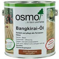 OSMO 006 Bangkirai Öl Naturgetönt 2,5 Ltr
