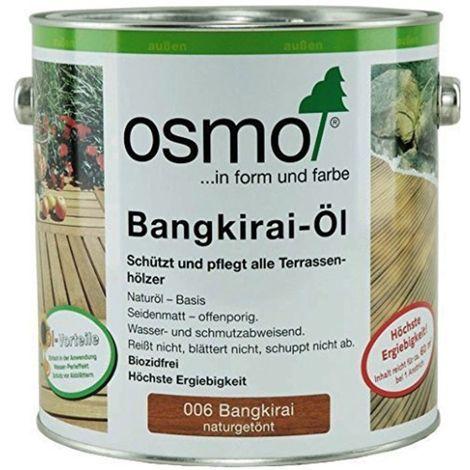 OSMO 006 Bangkirai Öl Naturgetönt 750ml
