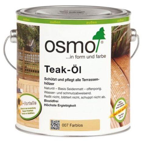 OSMO 007 Teak Öl Farblos 2,5 Ltr