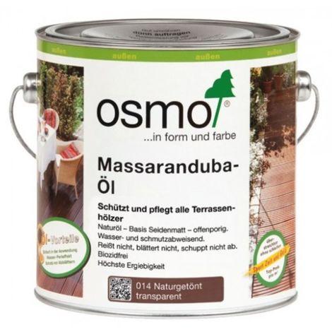 OSMO 014 Massaranduba Öl Naturgetönt 2,5 Ltr