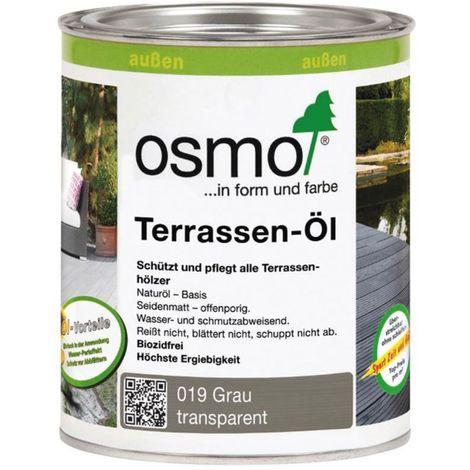 OSMO 019 Terrassen Öl Grau 750ml