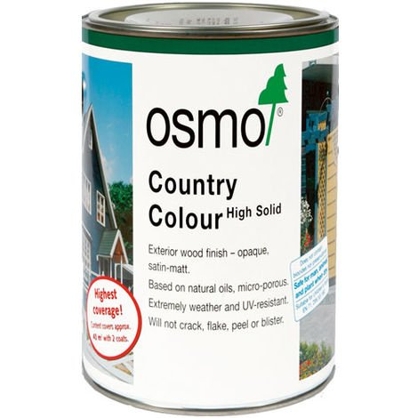 Osmo Country Colour Charcoal (2703) 0.75L