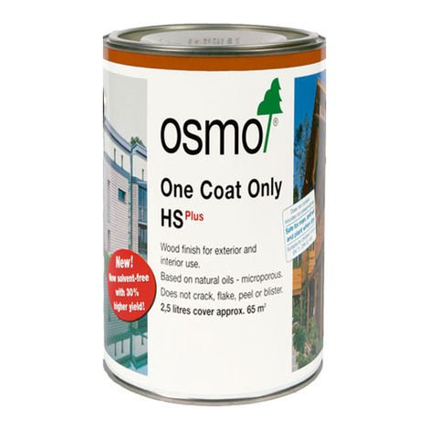 Osmo One Coat Only 9234 Scandinavian Red. 75L