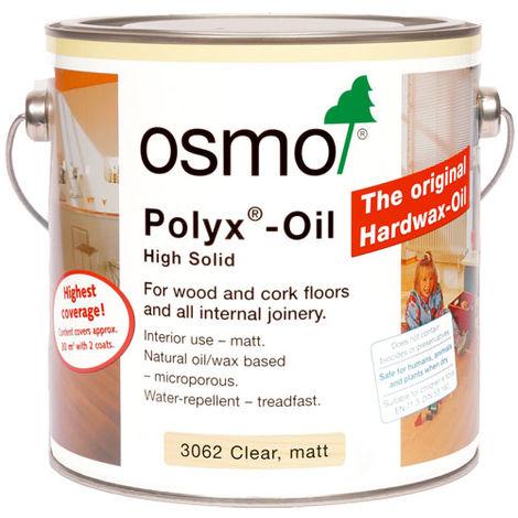 OSMO Polyx-Oil Clear Matt (3062) 2.5L