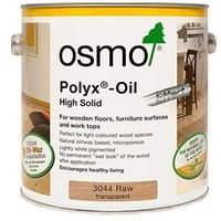 Osmo Polyx Oil Natural Transparent - Raw - 2.5 Litre, 750ml or 125ml