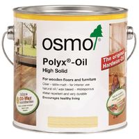 Osmo Polyx Oil Rapid - Clear or White - Satin or Matt - 2.5L and 750ml