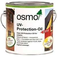 Osmo UV Protection Oil Extra - Clear - Satin with Film Protection - 750ml