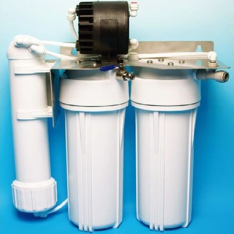 Osmoseur sous évier EXCEL II - HYDROPURE C50X2 (Réservoir : Réservoir 4 Inox)