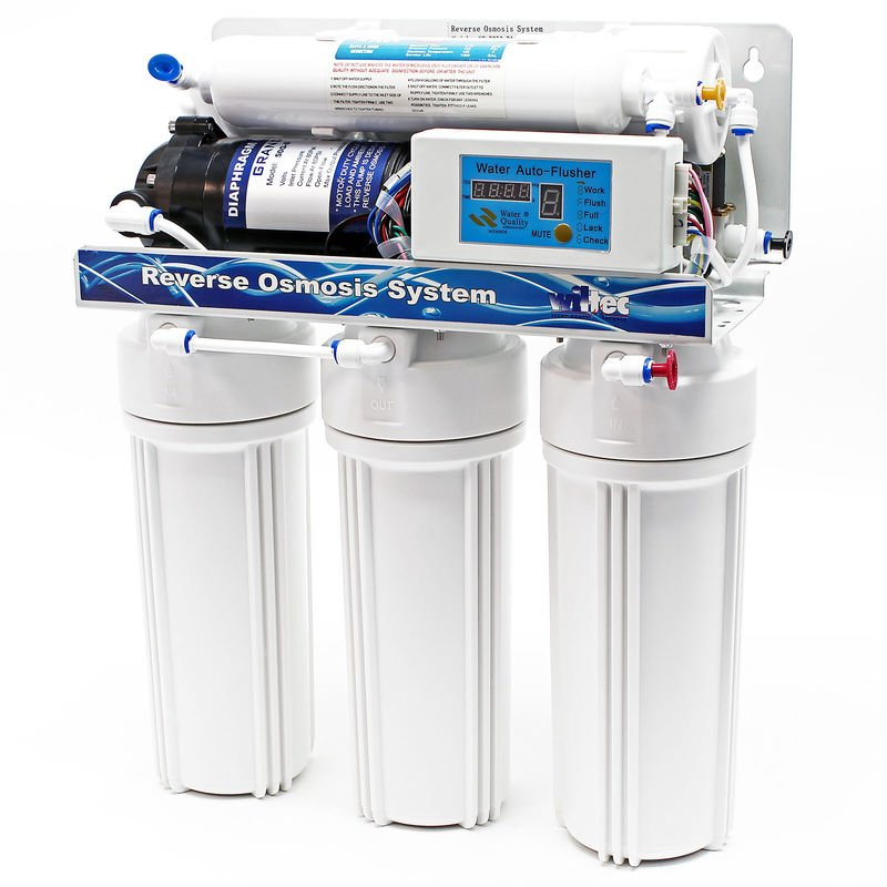 Naturewater OSMOSI INVERSA RO 190 L//giorno nw-ro50-d1 osmosi entmineralisierung