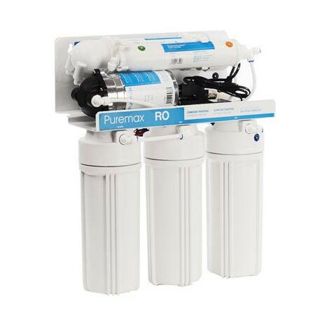 "main image of ""Ósmosis 5 etapas RO Puremax Pump Waterfilter"""