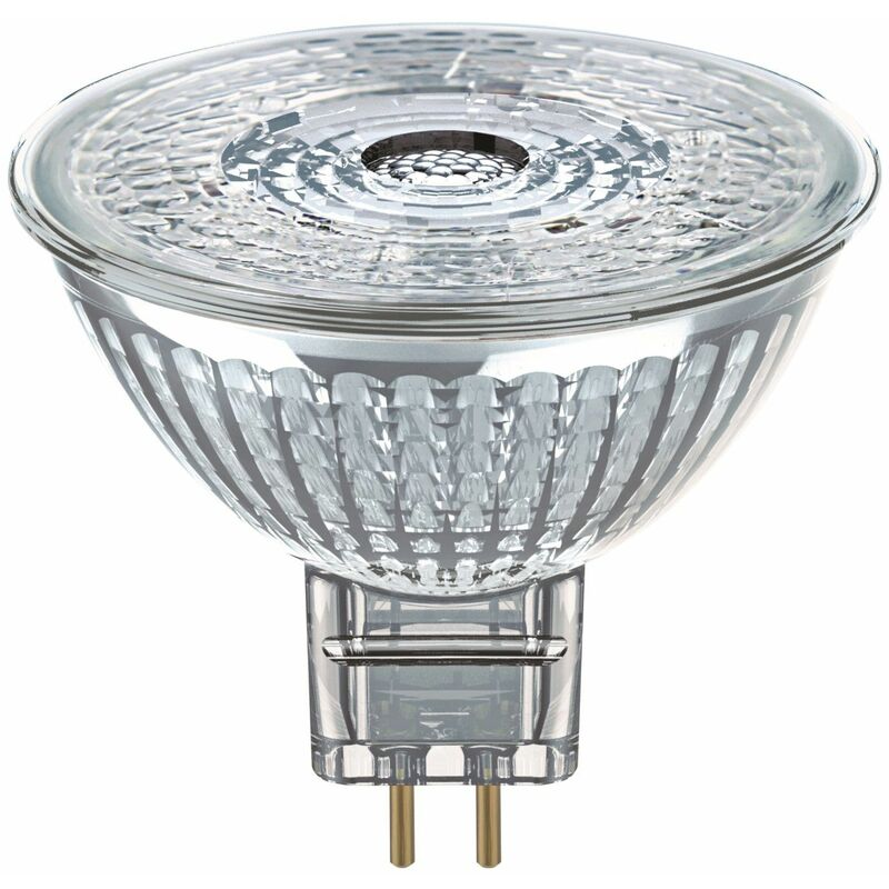 Image of Osram 5.3W Parathom Clear LED Spotlight MR16 Very Warm White - 957770-431256